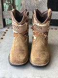 Ariat Lil Stompers Patriot Desert Camo Square Toe Boots A441000644