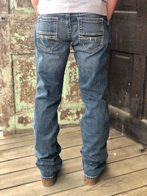 Ariat Men's M7 Coltrane Silverton Slim Fit Stackable Straight Leg Jeans 10027748