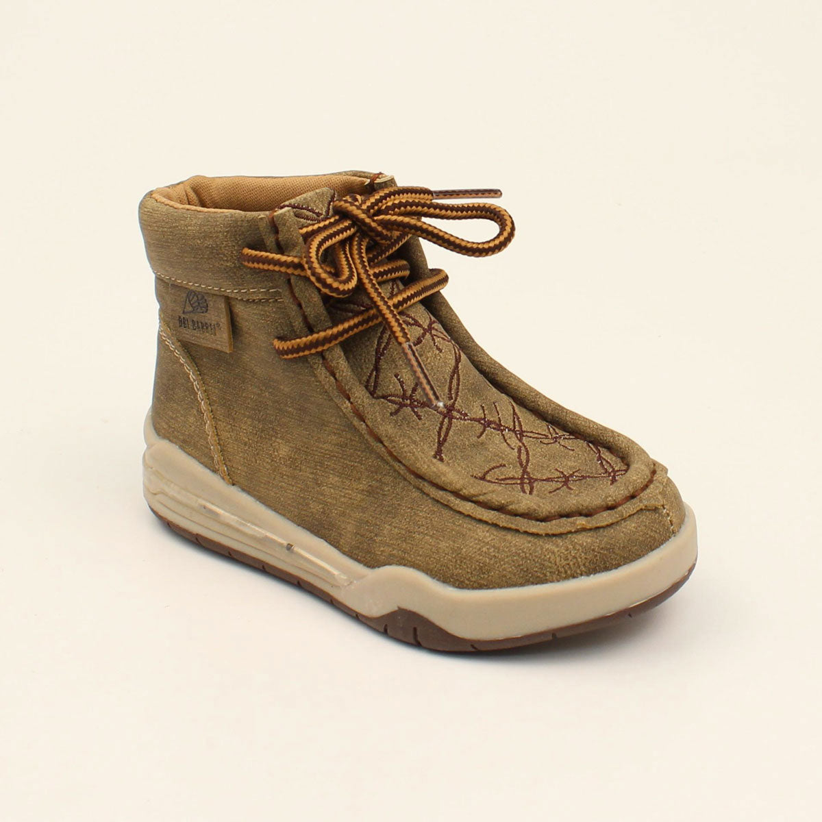 DBL Barrel Boy's Jackson Tan Barbed Wire Light Up Casual Shoes 443000808 446000808