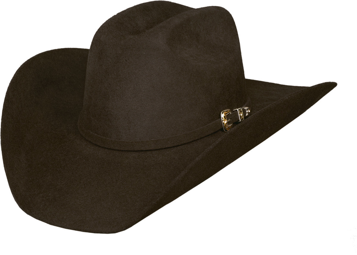 Bullhide Legacy 8X Chocolate Brown Wool Cowboy Hat 0518CH