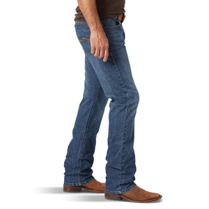 Wrangler Rock 47 Men's Duet Dark Wash Slim Straight Leg Jeans MRS47DT - Painted Cowgirl Western Store