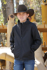 Cinch Boy's Bonded Black Jacket MWJ7480003