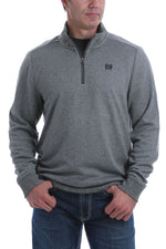 Cinch Men's Grey 1/4 Zip Pullover MWK1536001