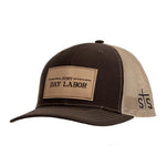 STS Ranchwear Men's Brown/ Khaki Mesh Just Day Labor Ball Cap STS2112
