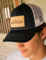 STS Ranchwear Men's The Ranch Hand Denim/White Mesh Cap STS2212DNWHP - Painted Cowgirl Western Store
