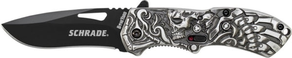 Schrade Boneyard Series Lazy Bones Folding Knife SCHA16B
