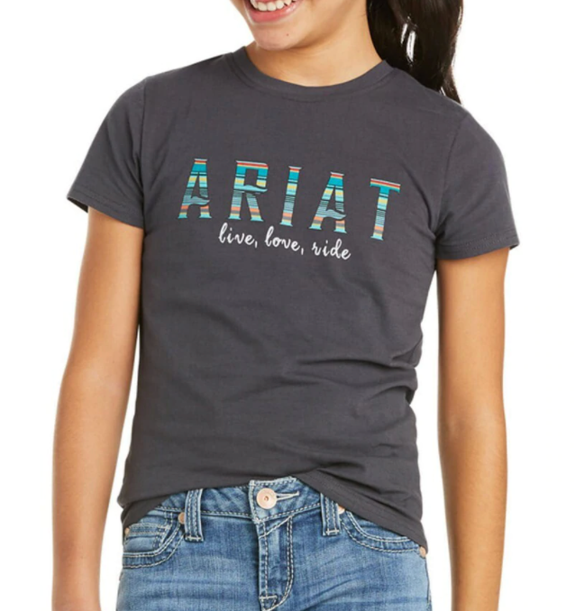 Ariat Girl's R.E.A.L Oasis Tee 10035261
