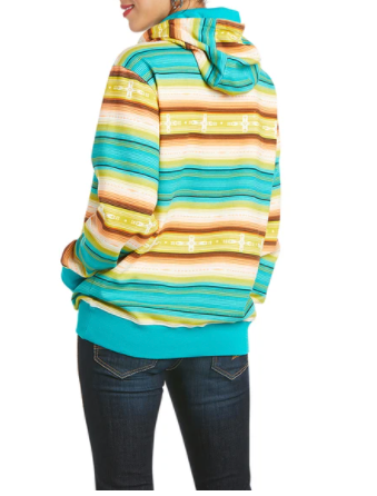 Ariat Women's R.E.A.L Baja Multicolored Hoodie 10034874