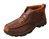 Twisted X Men's Brown Waterproof Hiker Driving Moccasin Shoe MHKW002
