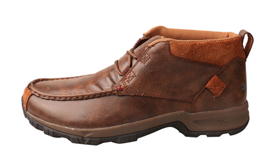 Twisted X Men's Brown Waterproof Hiker Driving Moccasin Shoe MHKW002 - Painted Cowgirl Western Store