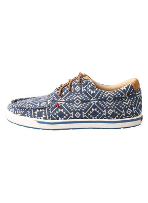 Load image into Gallery viewer, Twisted X Women's Hooey Multi Pattern Loper Shoes WHYC006
