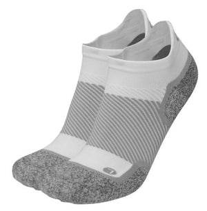 OS1st Wellness Performance White Diabetic Friendly Compression No Show Socks 38543W - Painted Cowgirl Western Store