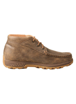 Twisted X Women's Bomber Brown Chukka CellStretch Driving Moc WXC0001 - Painted Cowgirl Western Store