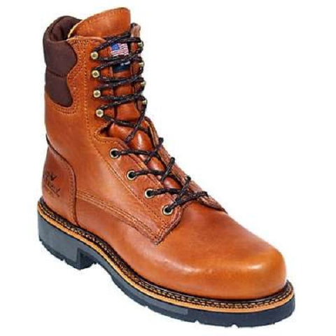 "Thorogood Men's 8"" American Heritage Tobacco Non Saftey Toe Work Boot 814-4549"