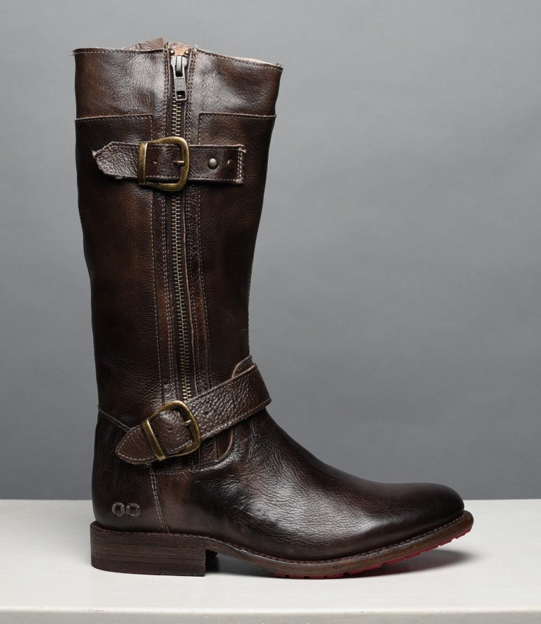 Bed Stu Women's Gogo Lug Tiesta Di Moro Tall Brown Boots TDIMR - Painted Cowgirl Western Store
