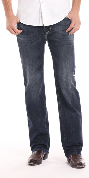 Rock & Roll Cowboy Men's Double Barrel Reflex Relaxed Straight Leg Jeans M0S7387 - Painted Cowgirl Western Store