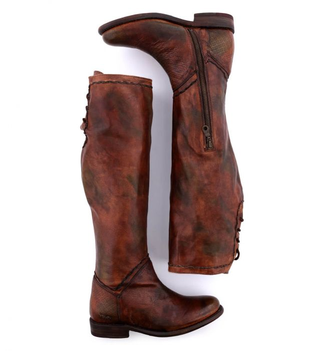 Load image into Gallery viewer, Bed Stu Women's Teak Rowan Manchester Tall Fashion Boot TKRWMU