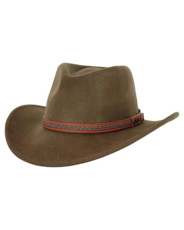 High Country Serpent Water Resistant Wool Western Hat 1328