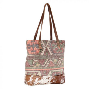 Myra Bag Sprinkle Hairon Tote Bag S-1595 - Painted Cowgirl Western Store