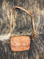Bed Stu Ziggy Tan Rustic Crossbody Purse A694440