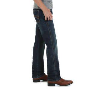 Load image into Gallery viewer, Wrangler Boy's/ Toddler 20X Dark Wash Slim Straight Leg Jeans 44JWXDN