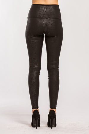 Welcome Home Leather Leggings (High Waisted)