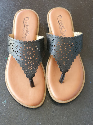 Casual Stroll Sandals - The Sassy Owl Boutique