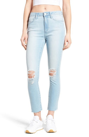 ARTICLE OF SOCIETY - DISTRESSED LIGHT DENIM - The Sassy Owl Boutique