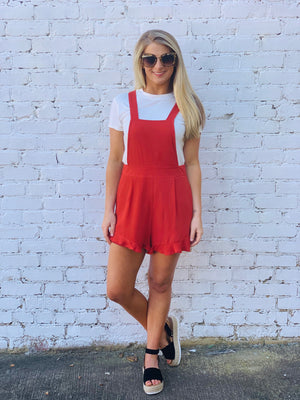 Living for It Romper - The Sassy Owl Boutique