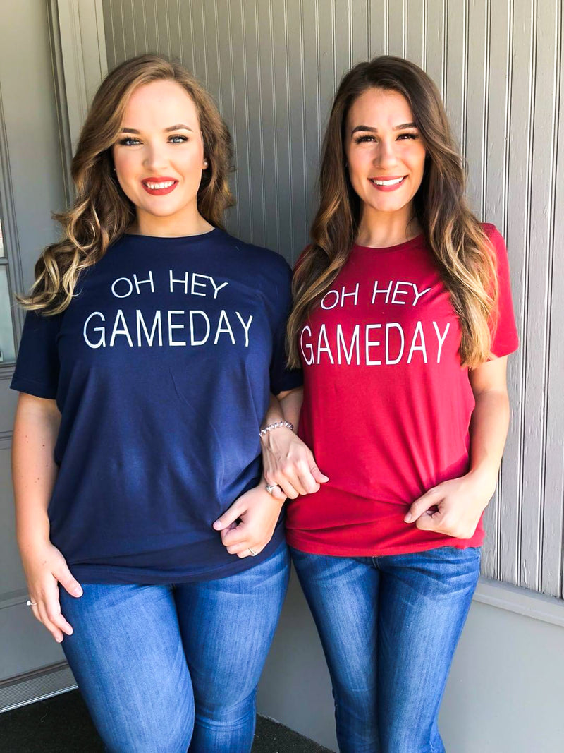 Oh Hey Gameday (S-2X) - The Sassy Owl Boutique