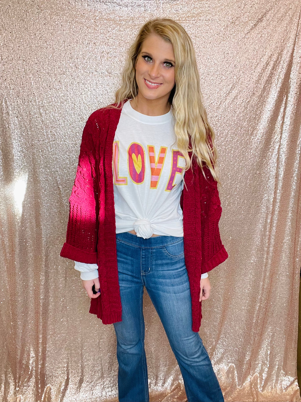 Love Long Sleeve Tee (S-2XL)