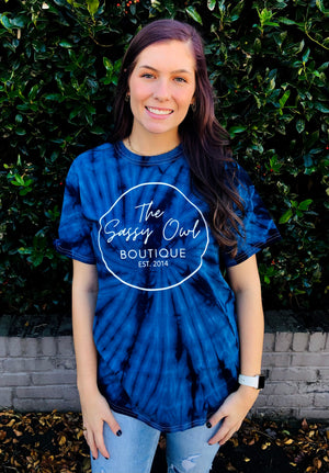 The Sassy Owl Boutique Tie Dye Tees (S-2X)