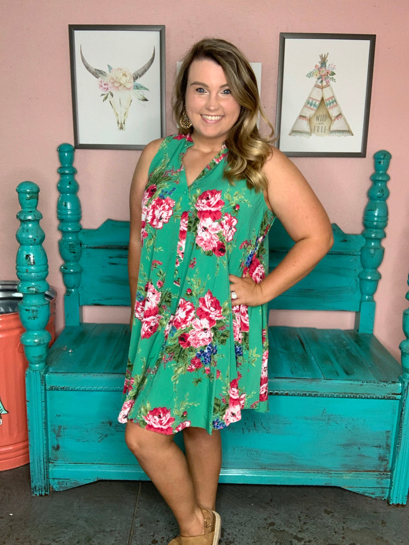 Floral Fantasy Dress