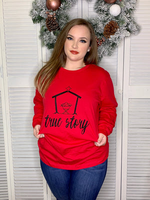 True Story Tee (Long Sleeve)