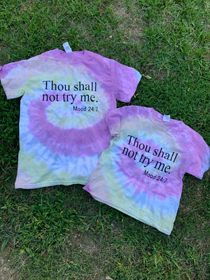 Thou Shall Not Try Me Tee (Youth and Adult)