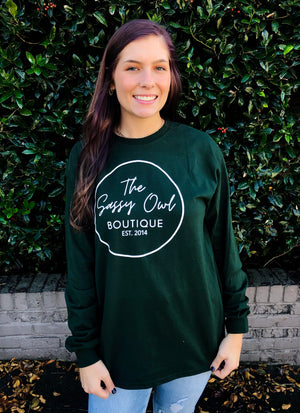 The Sassy Owl Boutique Long Sleeve Tee