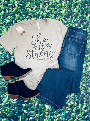 She Is Strong Tee (S-XL)