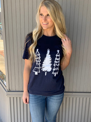 Oh Christmas Tree Tee - The Sassy Owl Boutique