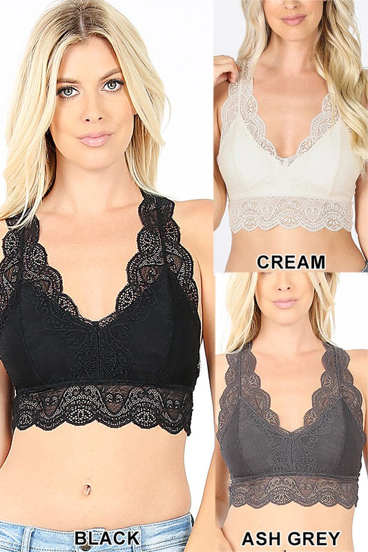 Playful Playlist Bralette (S-3X) - The Sassy Owl Boutique