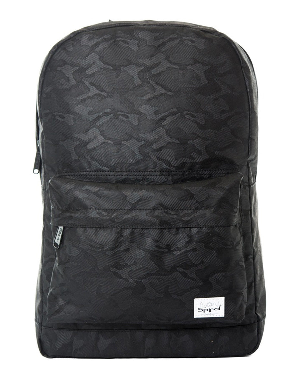 b8cad6b3ca89 Blackout Camo Backpack-front ...