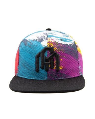 93288bb6a38 Canvas Stroke Snapback-Front