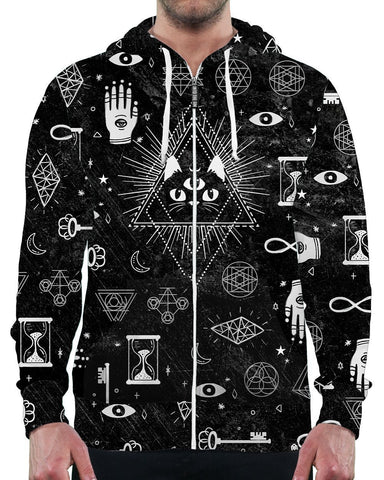 Rave Hoodies for Men Positive Clothing Brand EDM Clothing for Guys Awesome Hoodies qdEJNNc