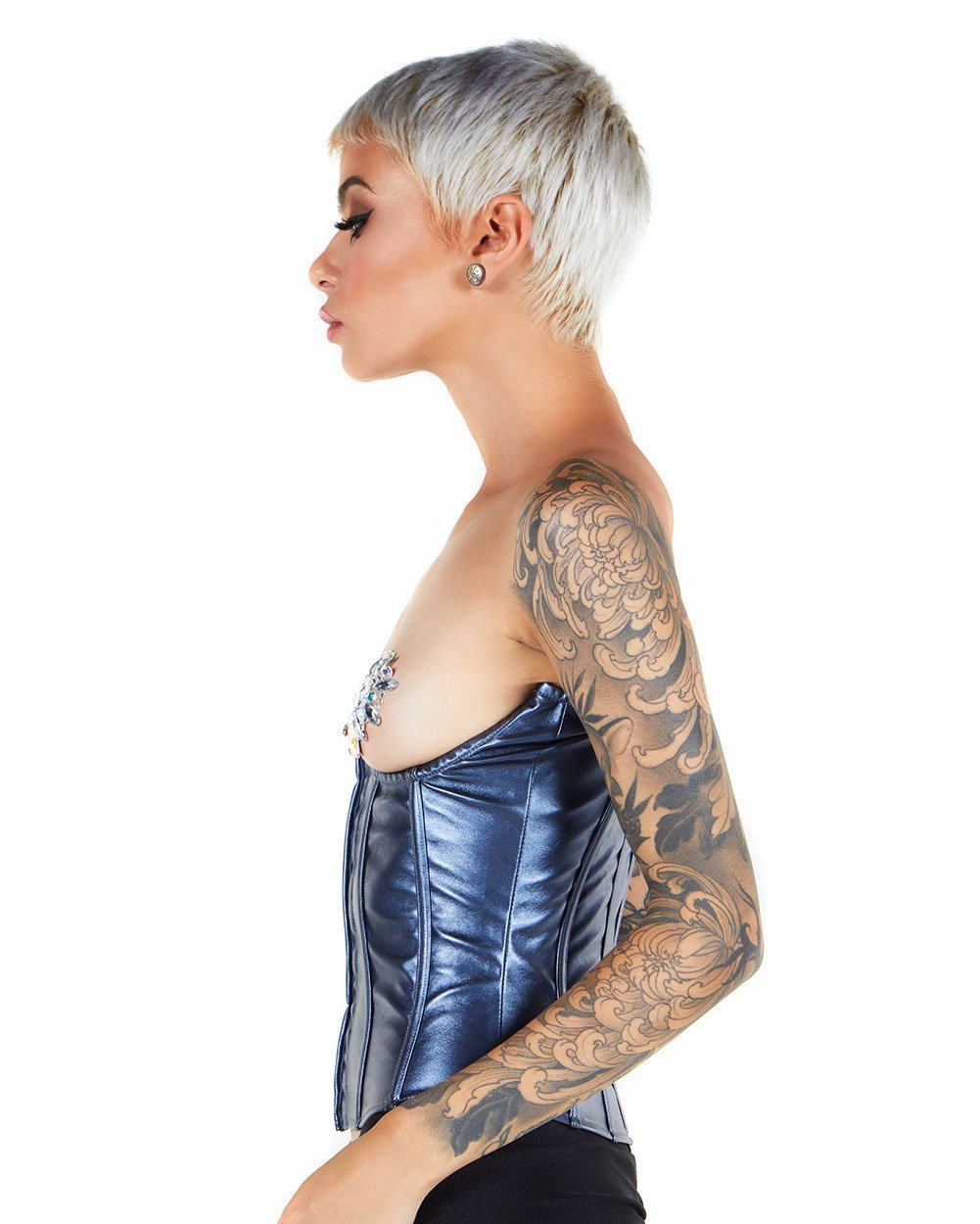 Buckle Up Holographic Burning Man Harness - EDM Sauce