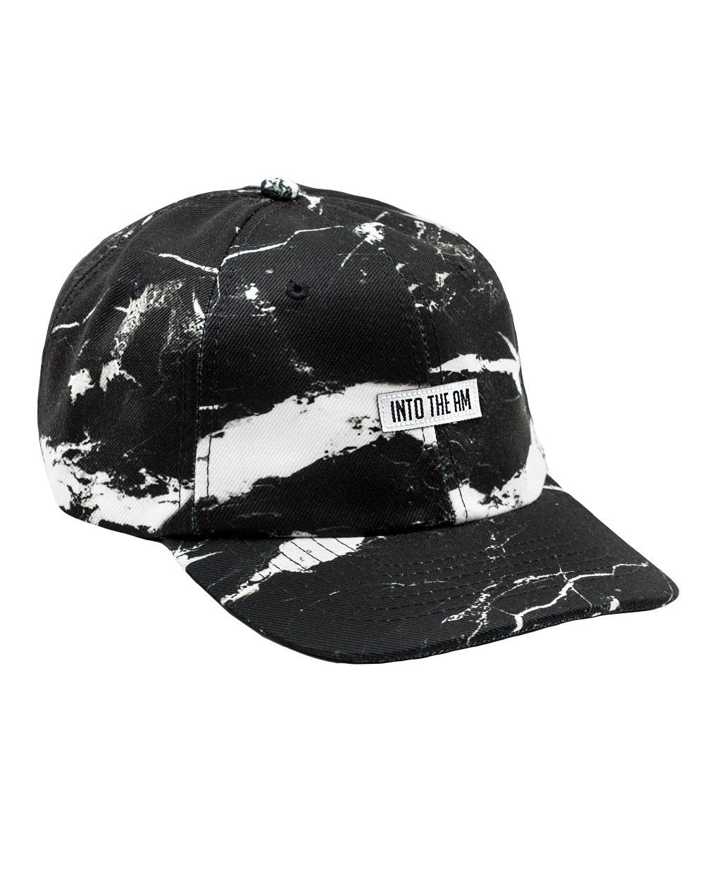 c4d4df4f0ac ... Black Marble Dad Hat-Side ...