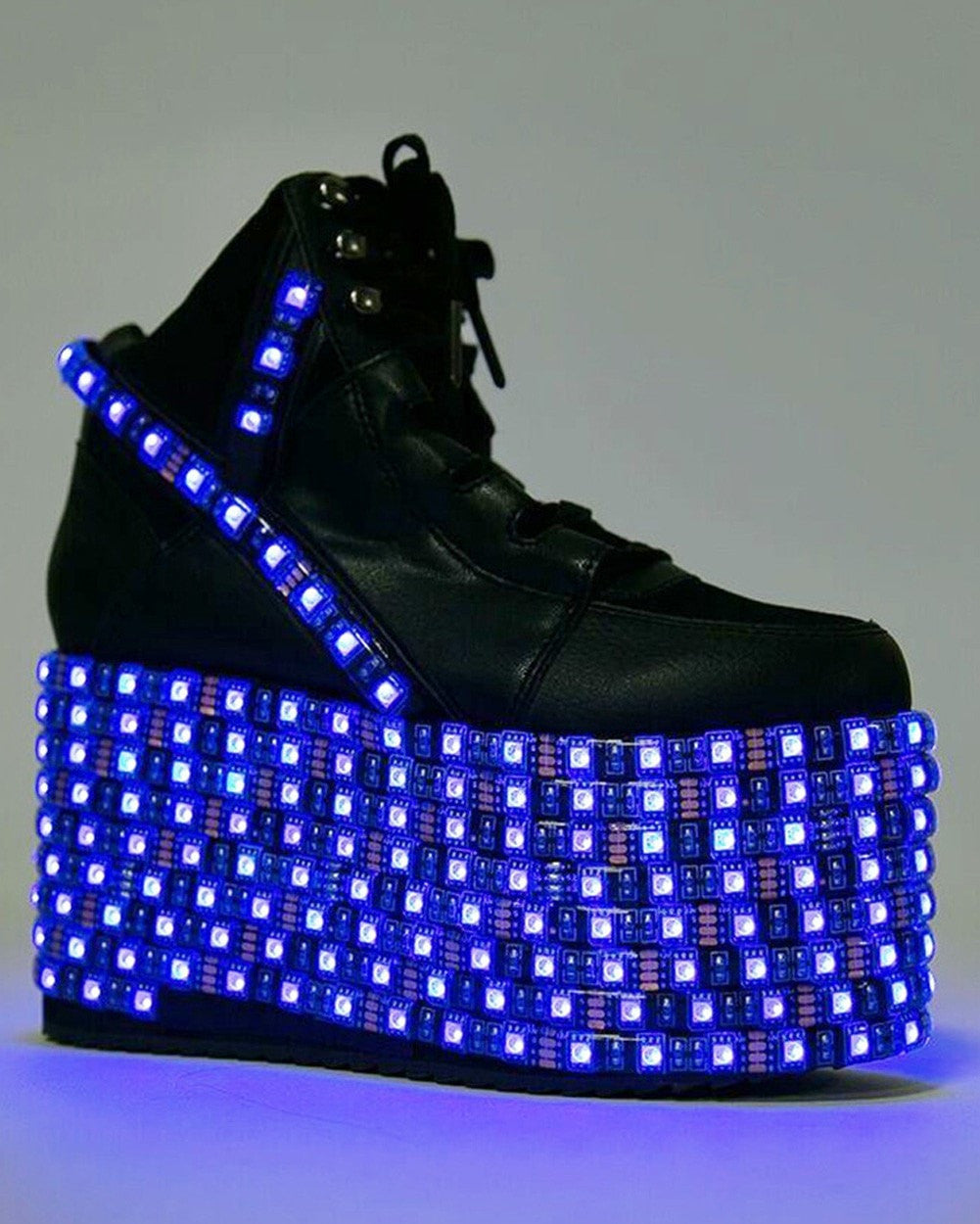 8cfd23d3e57137 ... YRU Hi LED Platform Shoes-blue LEDs ...