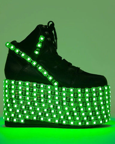 c747ae87231db9 YRU Hi Light Up Platform Shoes - EDM Sauce