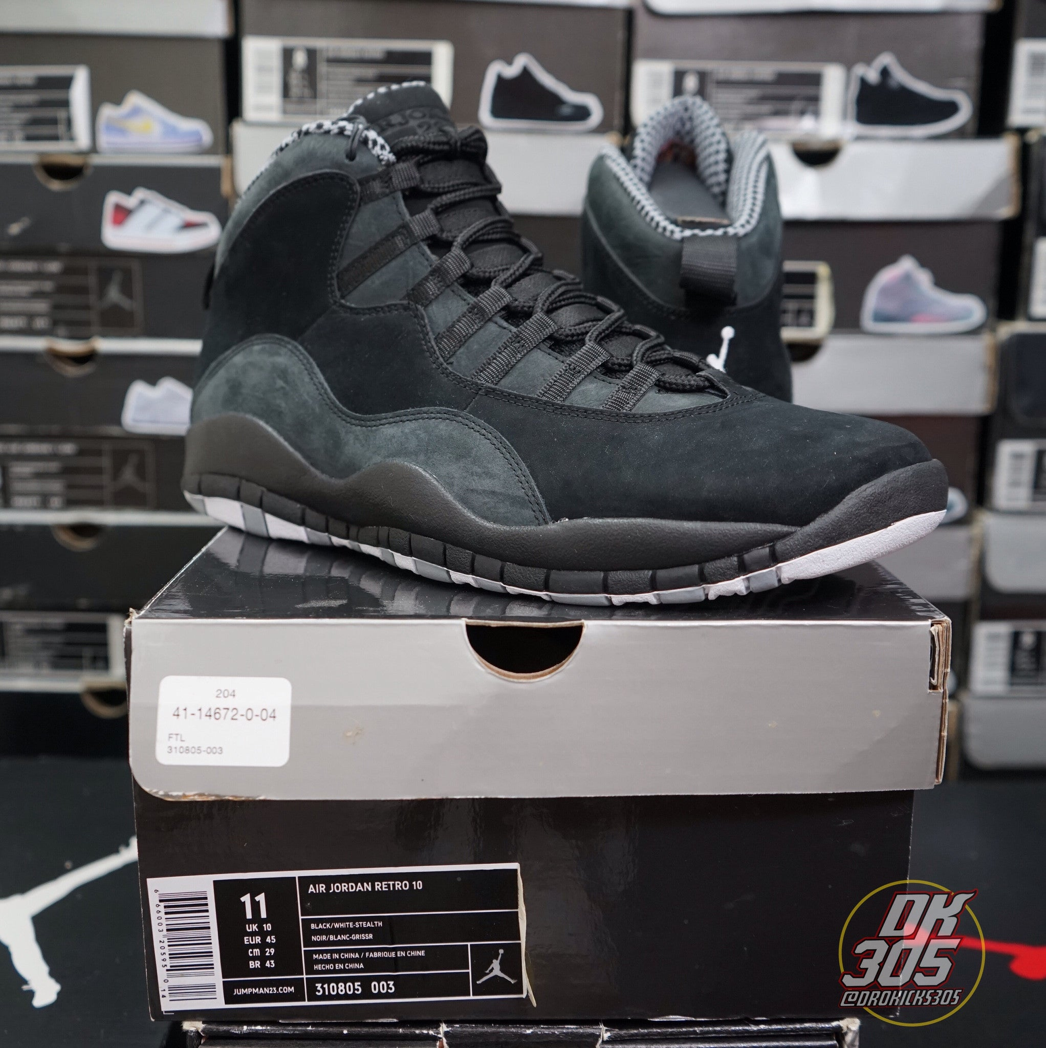 new product a0354 2479a Air Jordan X (10) Retro -