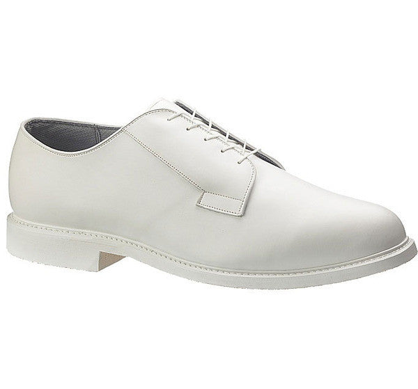 Bates Bates Lites White Leather Oxford