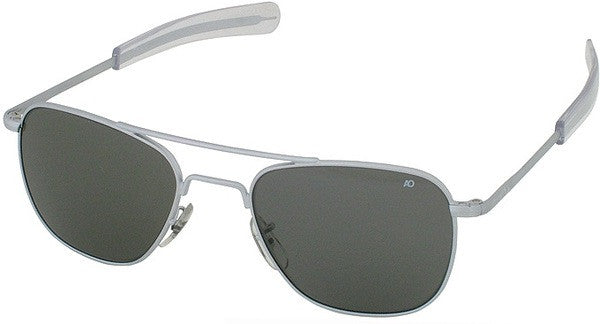 American Optical Chrome Aviator Sunglasses