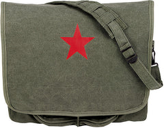 Rothco Red China Star Paratrooper Bag